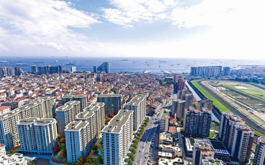 شقق باطلالات بحرية في اسطنبول